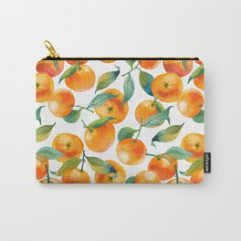 Mandarins With Leaves Carry-All Pouch