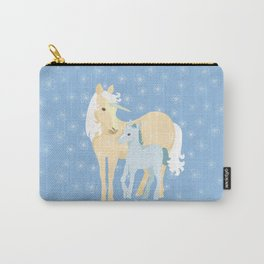 Unicorns. Mom and baby Carry-All Pouch