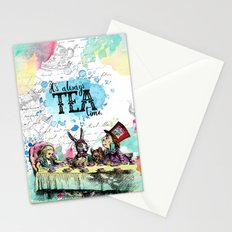 Alice in Wonderland - Tea Time Stationery Cards