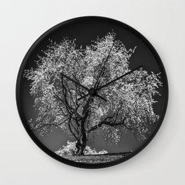 The Cherry Tree Wall Clock