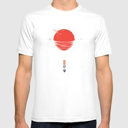"""Japan relief poster/all proceeds will go to """"Peace Winds"""" T-shirt"""