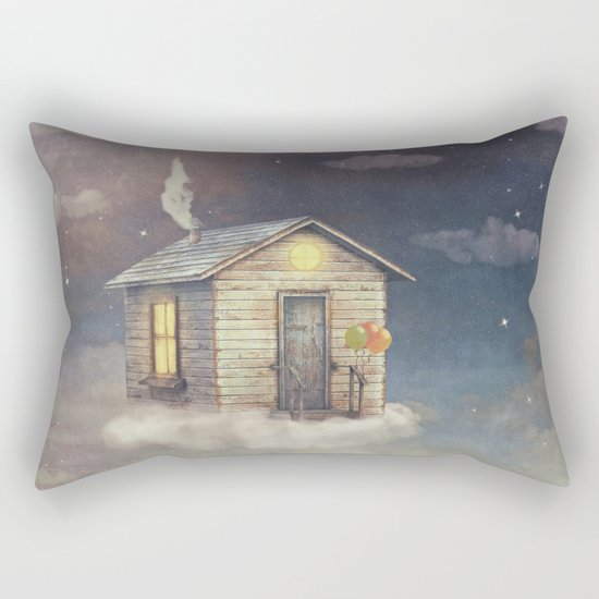 Flying Home Rectangular Pillow
