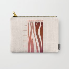 6 Degrees of Cookin' Bacon Carry-All Pouch