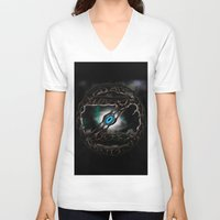 "dragonball z V-neck T-shirts featuring ""Z"" by Danbot"