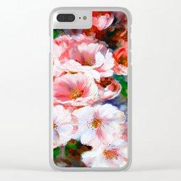 FLOWER PATTERN12 Clear iPhone Case