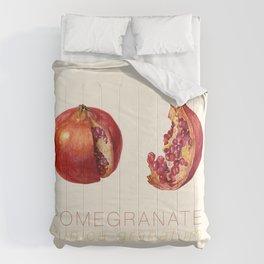 Pomegranate, Punica granatum Comforters