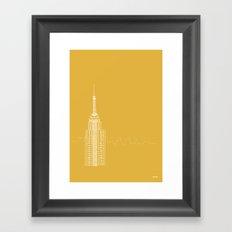 NYC by Friztin Framed Art Print