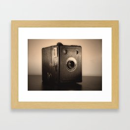 Boxed In. Framed Art Print