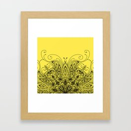 Ornaments Design Framed Art Print