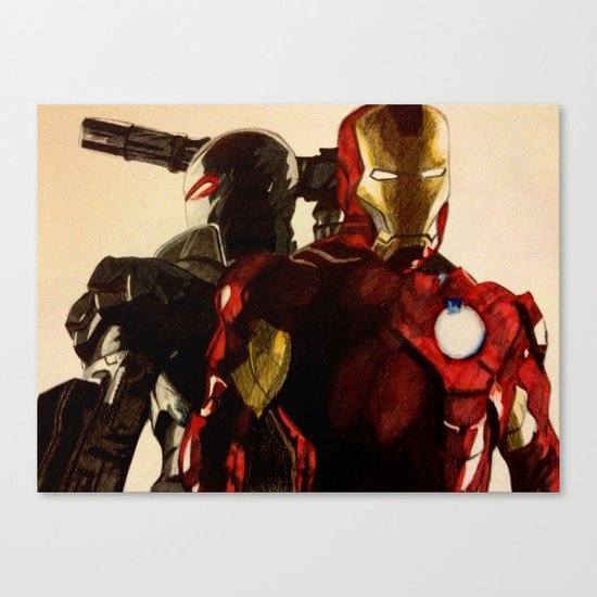 Iron Man 3 Canvas Print