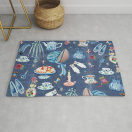 Jane Austens favourite things Rug