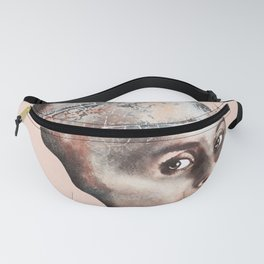 Pink Branch Woman Fanny Pack