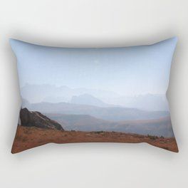 Hike to Lesotho - Southern Drakensberg Rectangular Pillow