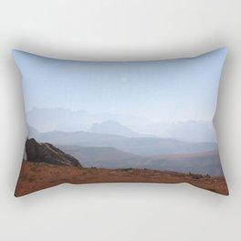 Hike to Lesotho - Southern Drakensberg Rectangular Pillow