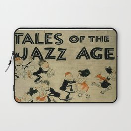 Tales of the Jazz Age vintage book cover - Fitzgerald Laptop Sleeve