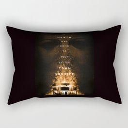 Death Has Come Rectangular Pillow
