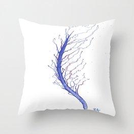 Bionic Nature Throw Pillow