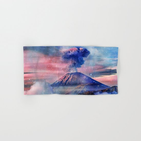 Active volcano Hand & Bath Towel