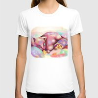 rave T-shirts featuring Rave Kitty by RaraHimeChan