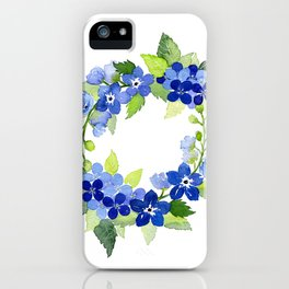 French Blues iPhone Case