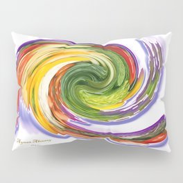 The whirl of life, W1.9A Pillow Sham