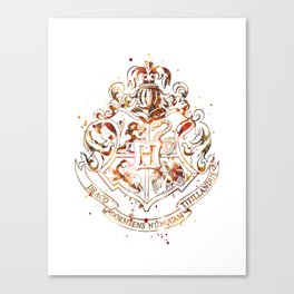 Hogwarts Crest Canvas Print