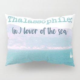 Thalassophile Pillow Sham