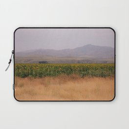 Sunflower Fields Laptop Sleeve