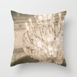 Vintage Light Throw Pillow
