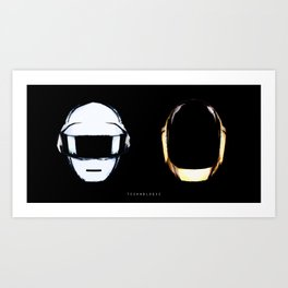 Daft Punk | Technologic Art Print