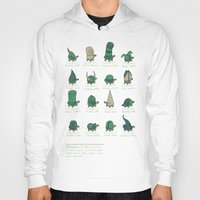 study Hoodies featuring A Study of Turtles by Hector Mansilla
