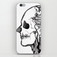 gorillaz iPhone & iPod Skins featuring Demon Days ~ A. by Sára Szabó