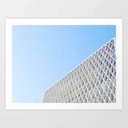 American Cement Building Art Print
