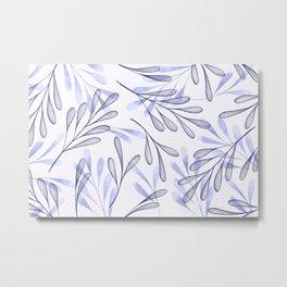 Simple Leaves 4 Metal Print