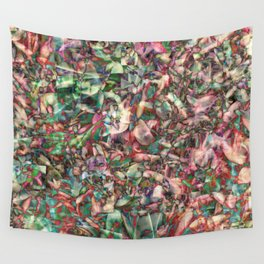 Polychromatic Succulent Wall Tapestry