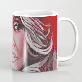 Dolly Parton in Pink Coffee Mug