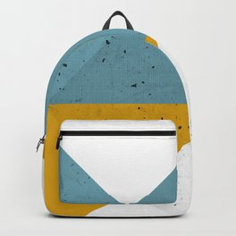Modern Geometric 19 Backpack