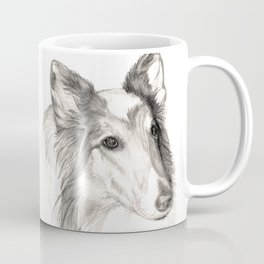 Remembering Maggie :: A Tribute to a Collie Coffee Mug