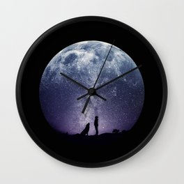 Stargaze Wall Clock