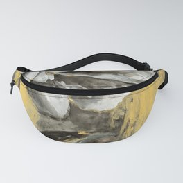 Blooming in Gold Fanny Pack