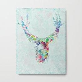 Deer Buck  Metal Print