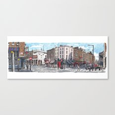 Bow, Monmouth and Russell Streets Canvas Print