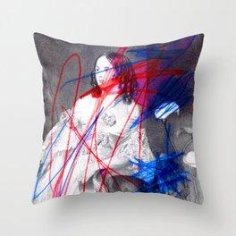 Strike 14 Throw Pillow