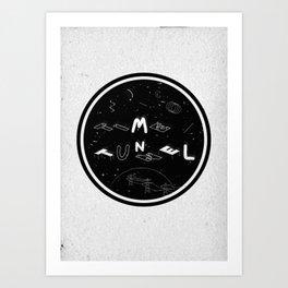 TIME TUNNEL Art Print