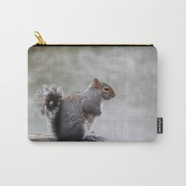 Observant Squirrel  Carry-All Pouch