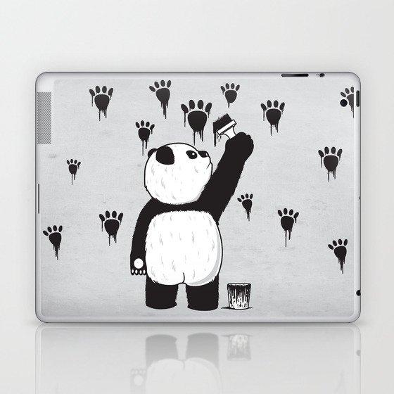 Pandalism Laptop & iPad Skin