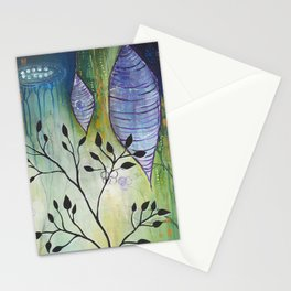Reflection of Beginnings Stationery Cards