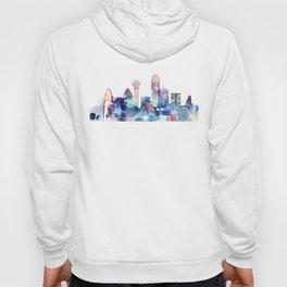 Dallas Texas Blue Skyline Hoody