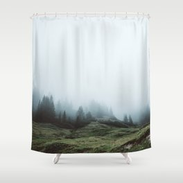 In the mountains again Shower Curtain