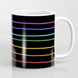 Abstract Retro Stripes #3 Coffee Mug